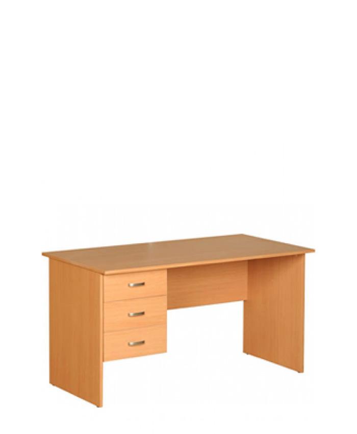 Письмовий стіл з трьома ящиками Б-107+413