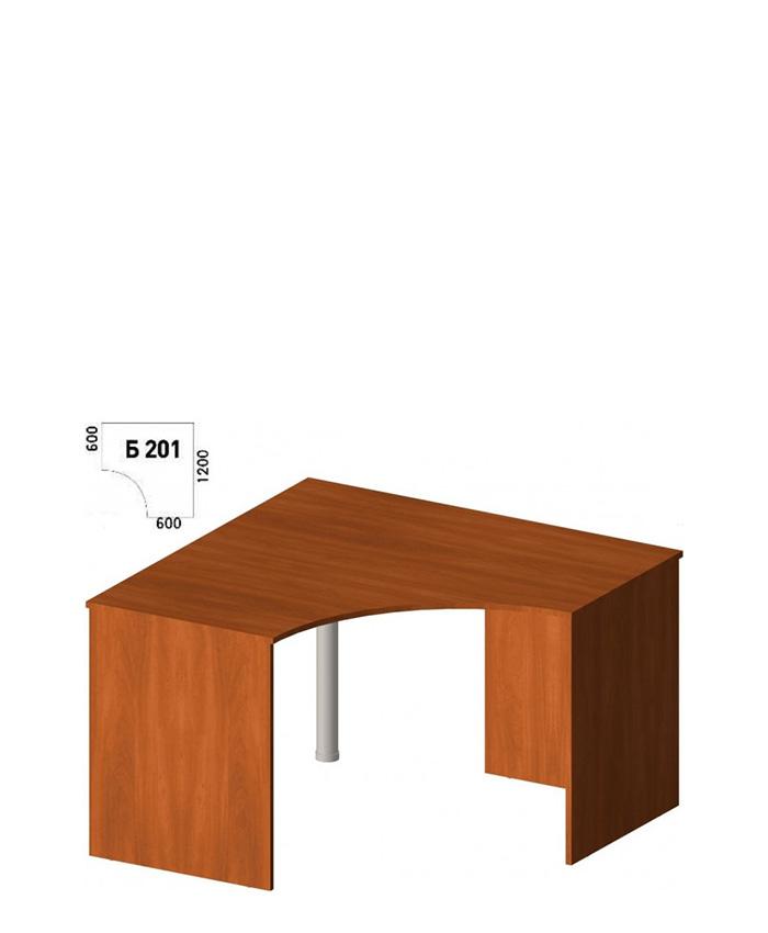 Кутовий письмовий стіл Б-201