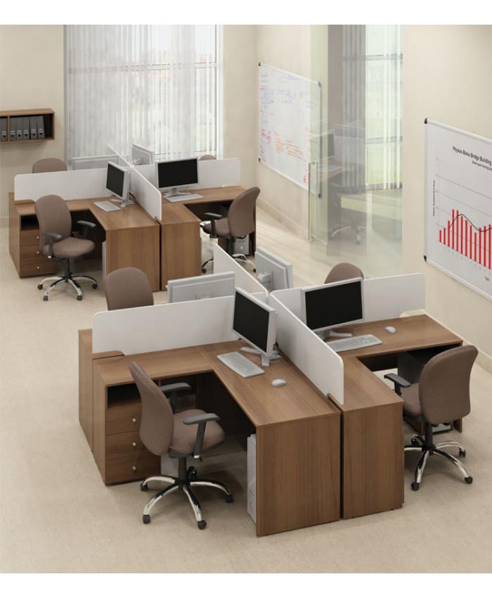 Меблі для персоналу Bazis (Базис) №2 (8 робочих місць)