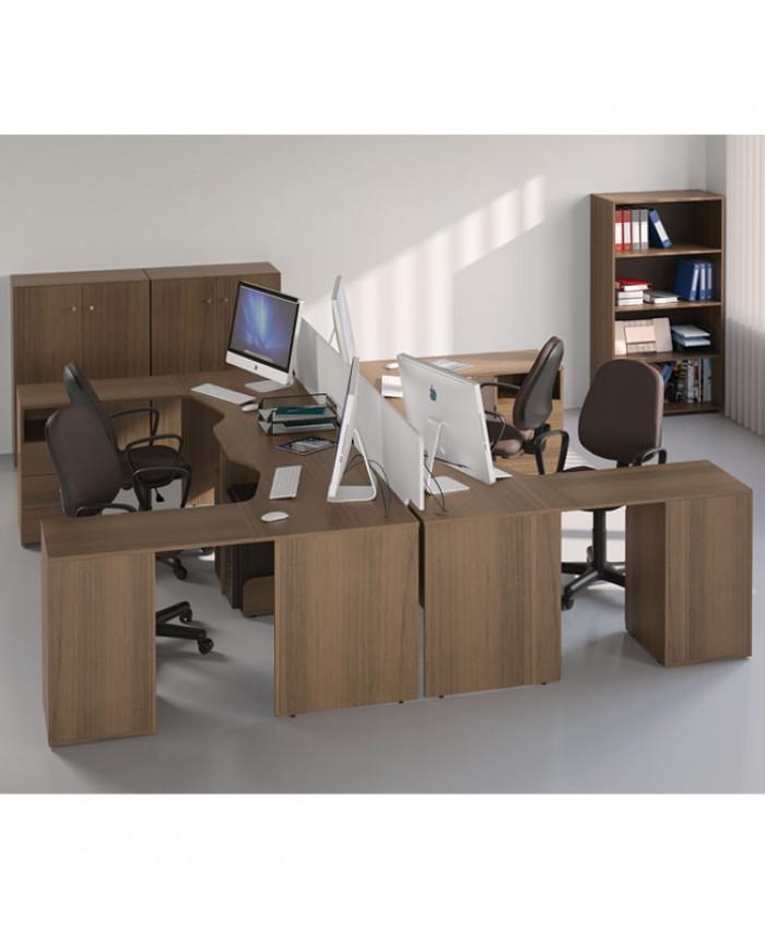 Мебель для персонала Bazis (Базис) №3 (4 рабочих места)