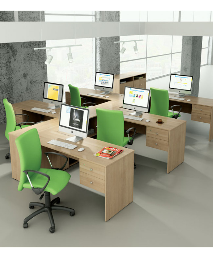 Меблі для персоналу Bazis (Базис) №4 (5 робочих місць)
