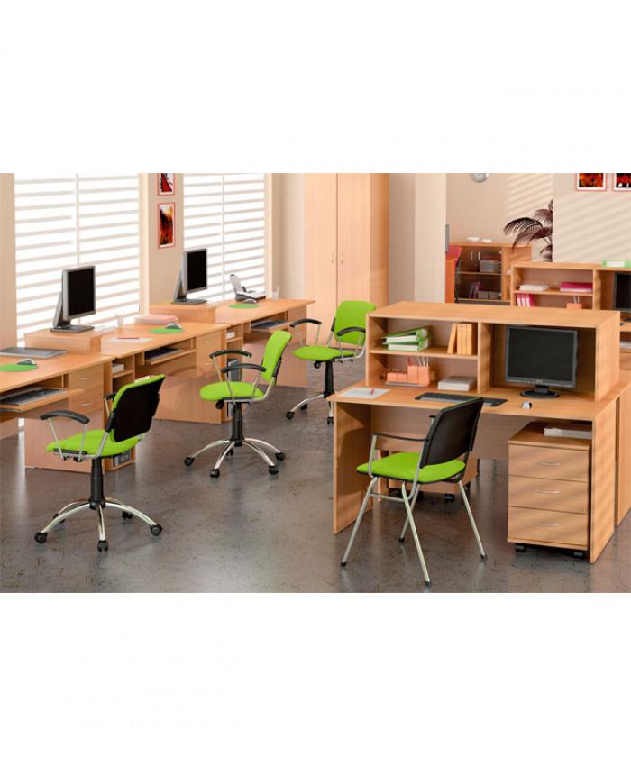 Меблі для персоналу Бюджет №1 (4 робочих місця)