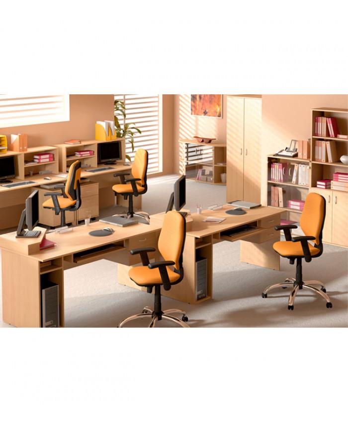Мебель для персонала Бюджет №2 (4 рабочих места)