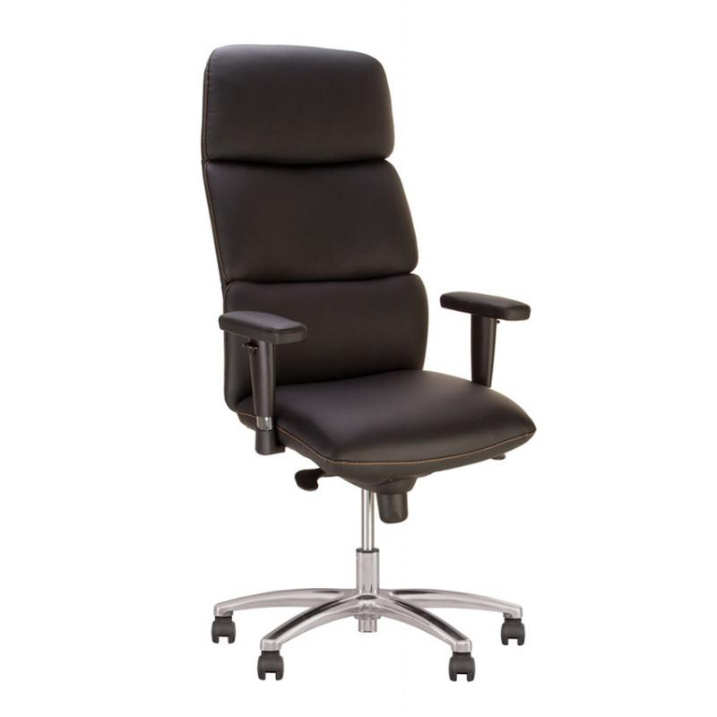 Крісло для керівника California (Каліфорнія) R steel chrome