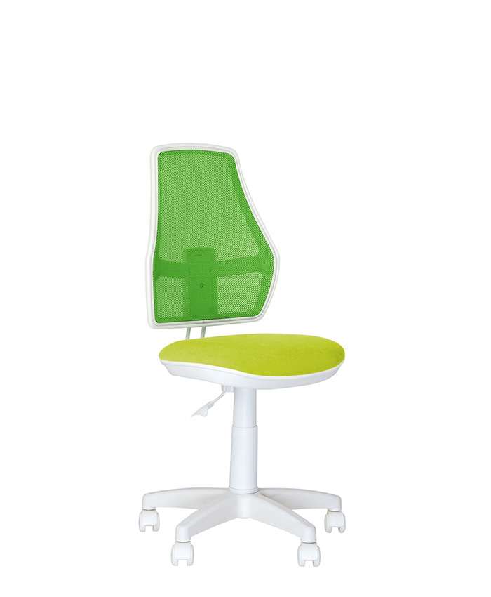 Дитяче комп'ютерне крісло Fox (Фокс) GTS white OD