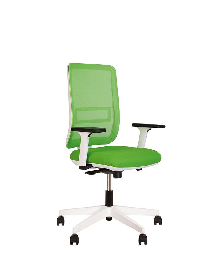 Кресло компьютерное Smart (Смарт) R net white