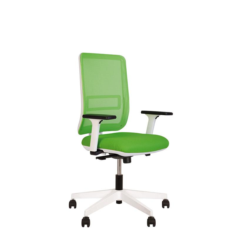 Крісло комп'ютерне Smart (Смарт) R net white