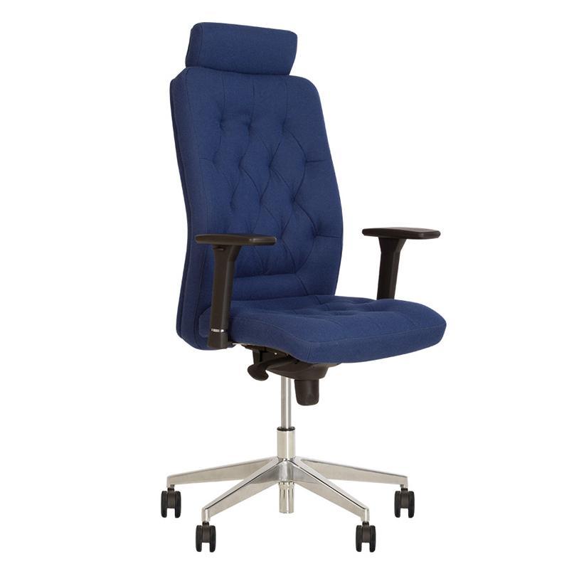 Крісло для директора Chester (Честер) R HR steel chrome