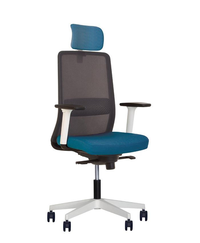 Кресло компьютерное Frame (Фрейм) white PL