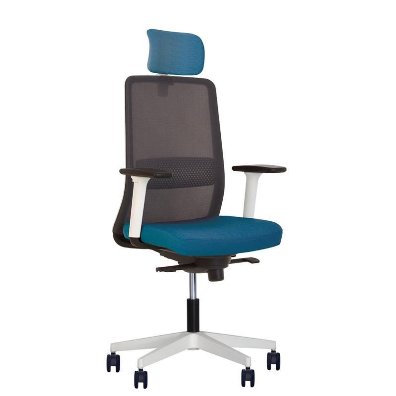 Крісло комп'ютерне Frame (Фрейм) white PL