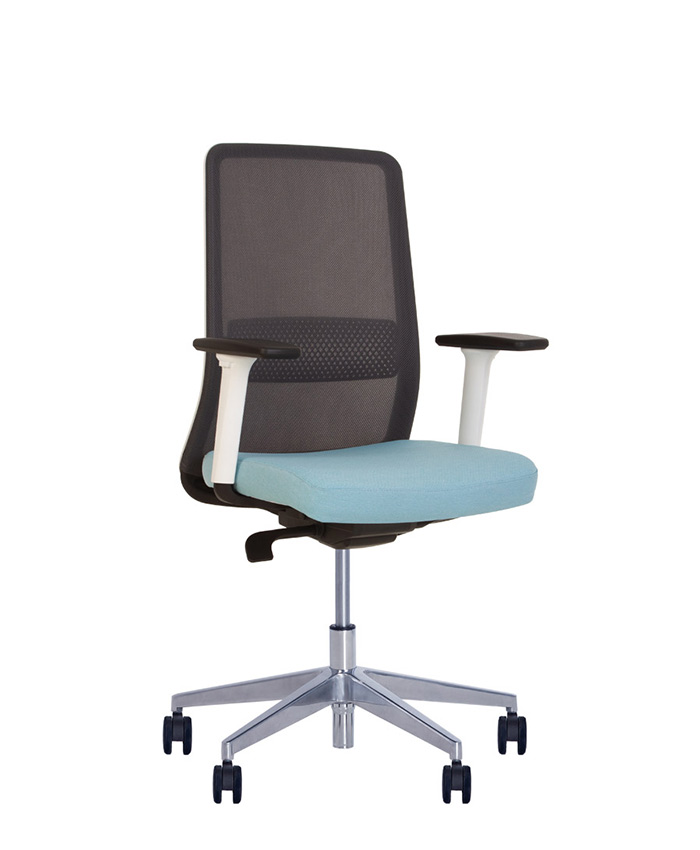 Крісло комп'ютерне Frame (Фрейм) white AL