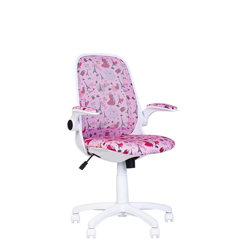 Дитяче комп'ютерне крісло Glory (Глорі) kids white