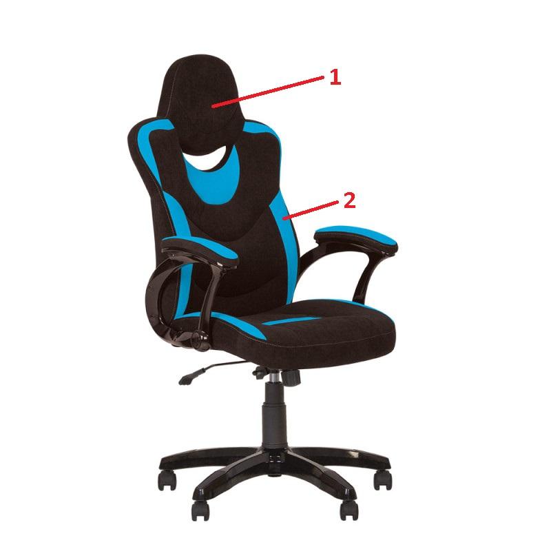 Крісло керівника Gosu (Госу) Micro