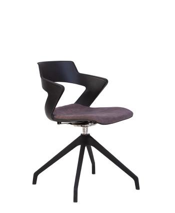 Крісло для відвідувачів Zenith (Зеніт) plast plus combi  PL68/PL68W-4S