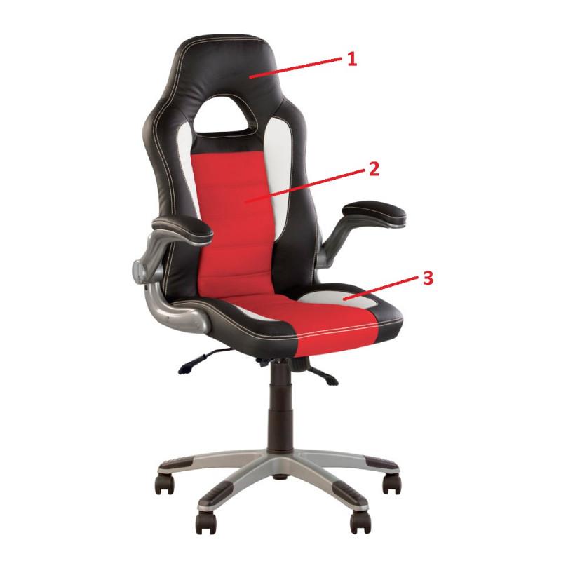 Кресло руководителя Racer (Рейсер) Anyfix ECO