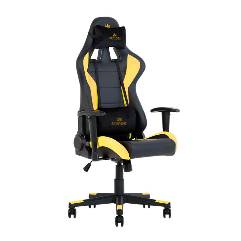 Геймерское кресло Hexter (Хекстер) ML R1D TILT PL70 01 black/yellow
