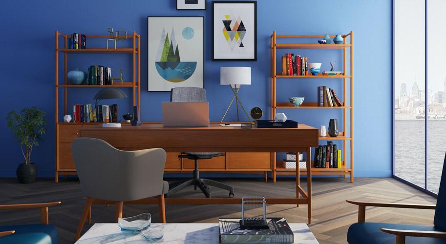 Обустраиваем домашний офис. Как не потерять работоспособность дома?