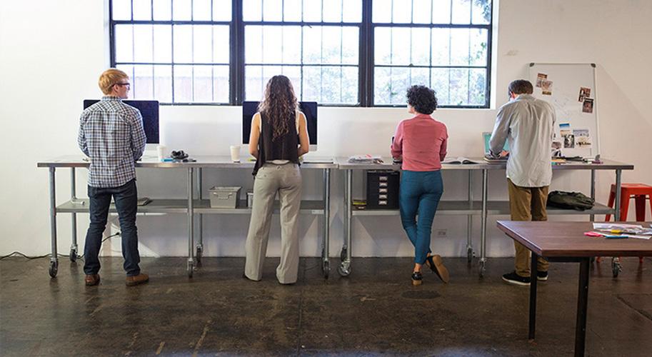Робота стоячи - користь чи шкода?