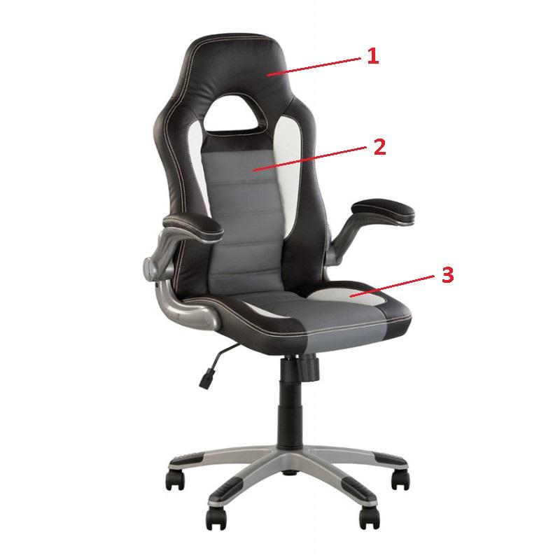 Кресло для руководителя Racer (Рейсер) Tilt/Anyfix