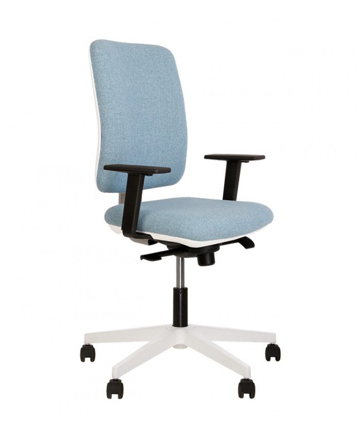 Крісло комп'ютерне Smart (Смарт) R white