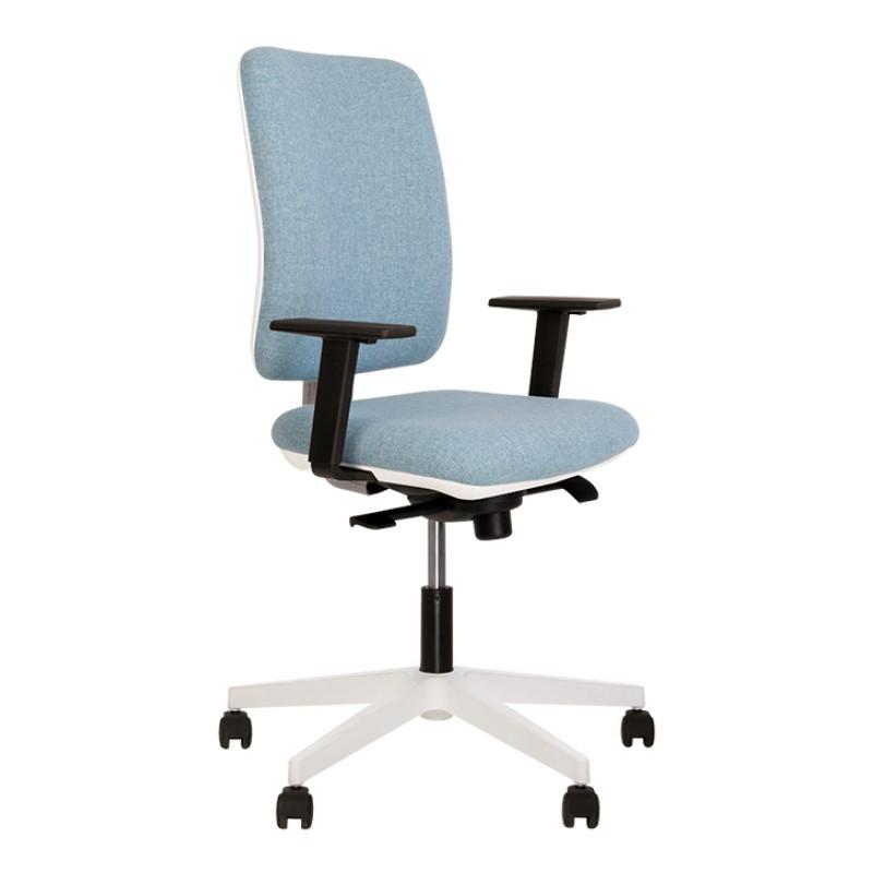 Кресло компьютерное Smart (Смарт) R white