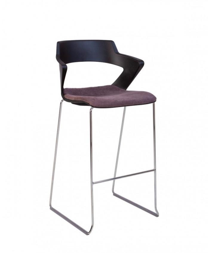 Барный стул Zenith (Зенит) plast plus combi black hoker CFS