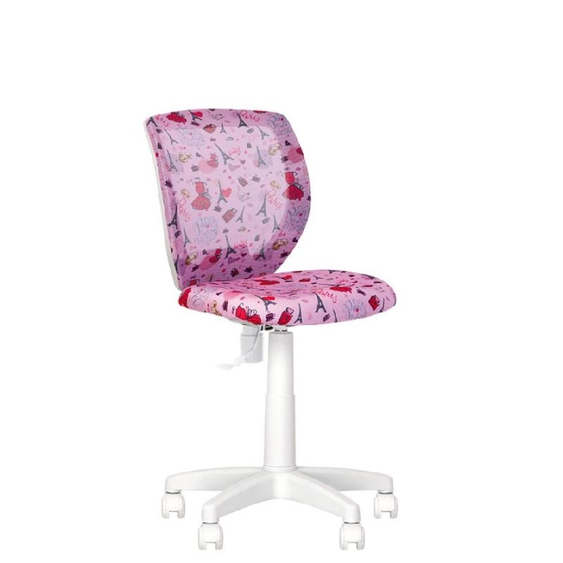 Дитяче комп'ютерне крісло Orly (Орлі) GTS white OD