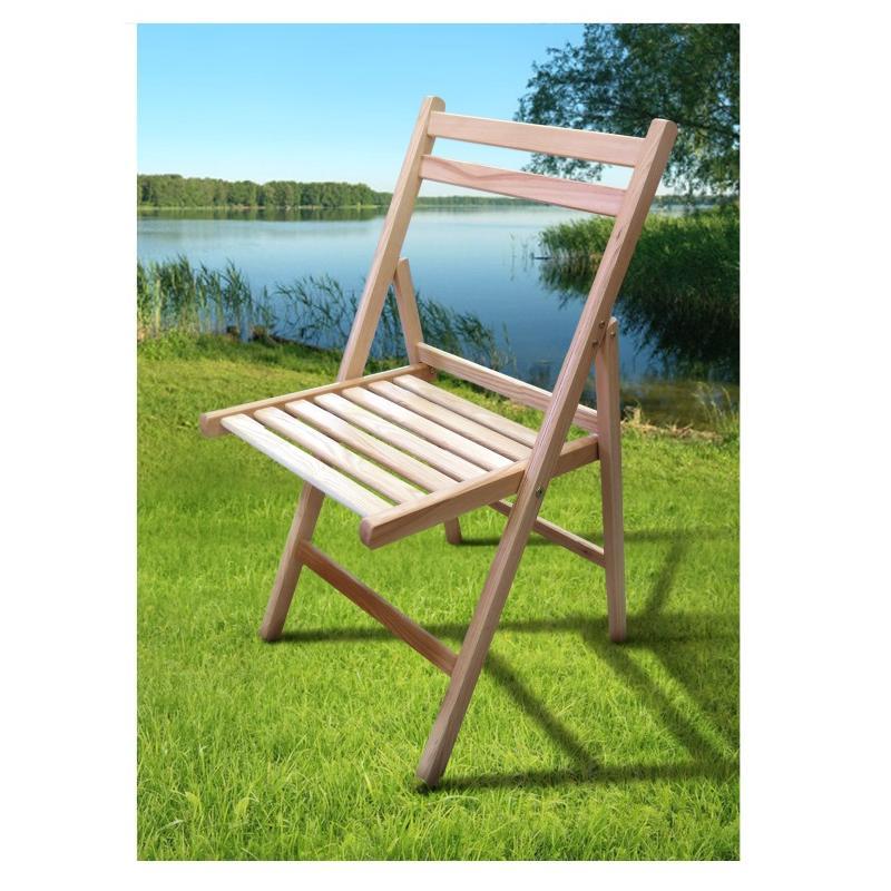 Розкладний стілець Пікнік натуральний