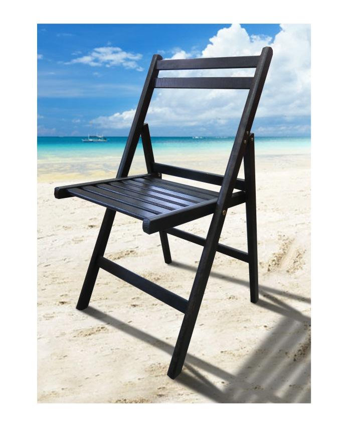 Розкладний стілець Пікнік венге