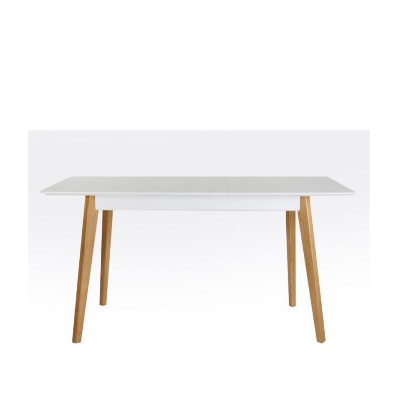Раскладной обеденный стол Сингл белый