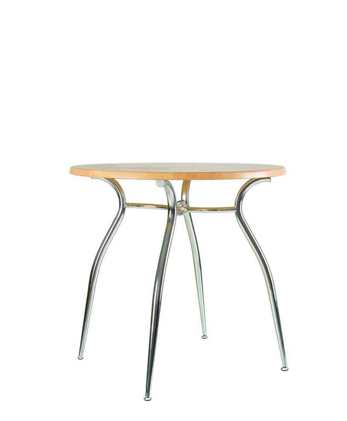 Обідній стіл Cristal (Кристал) chrome MA