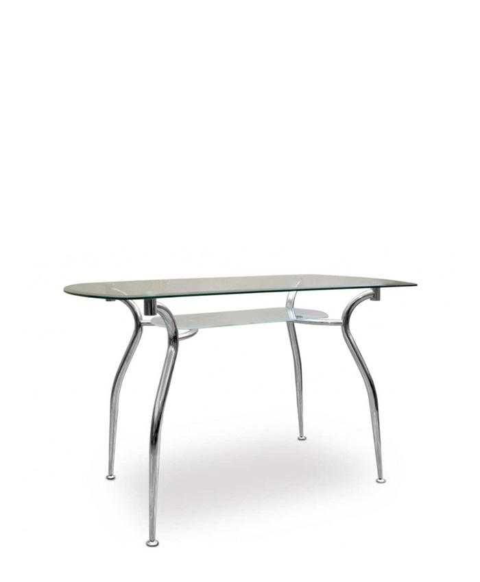 Обеденный стол со столешницей и полкой Cristal (Кристал)