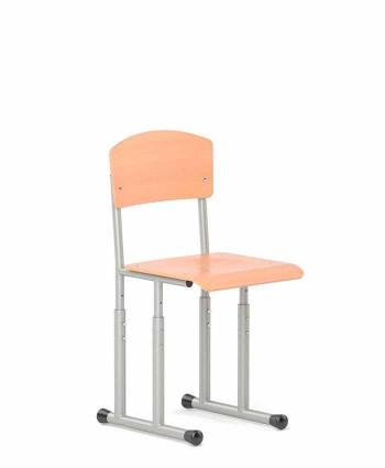 Регулируемый стул ученический E-276 BR ALU