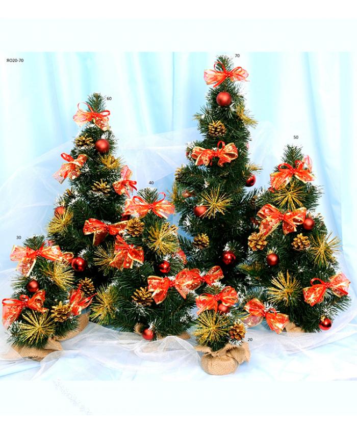 Декор новогодний Елка украшенная