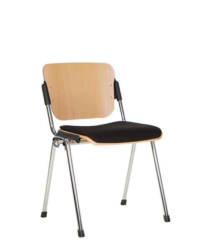 Офисный стул для посетителей Era (Эра) wood plus combi