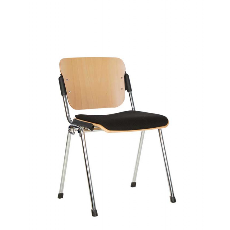 Офісний стілець для відвідувачів Era (Ера) wood plus combi