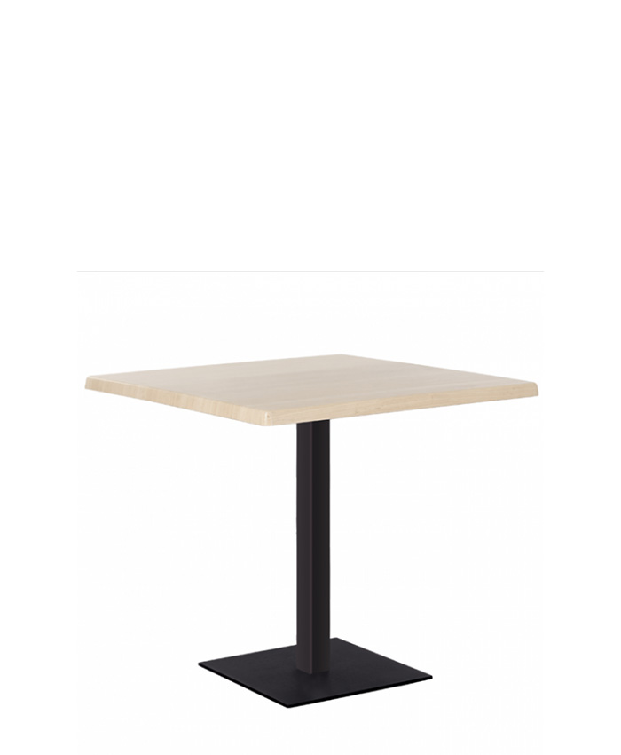 Обідній стіл Tetra (Тетра) black/alu