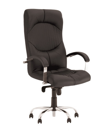 Крісло керівника Germes (Гермес) steel chrome comfort