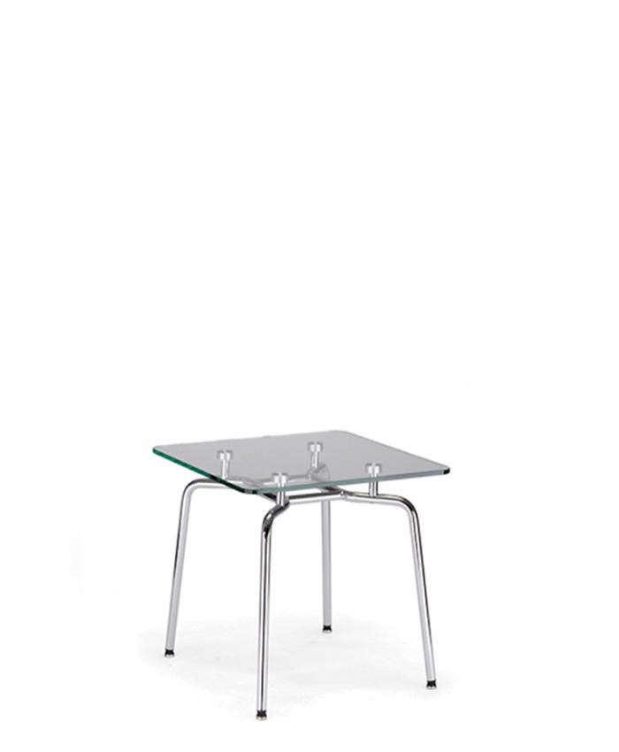 Стеклянный стол Hello (Хелло) GL chrome