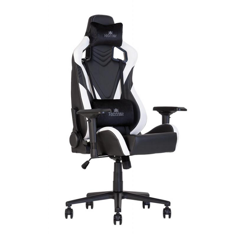 Геймерское кресло Hexter (Хекстер) PRO R4D TILT MB70 02 black/white