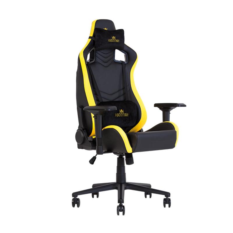 Геймерское кресло Hexter (Хекстер) PRO R4D TILT MB70 01 black/yellow