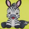 Ткань Fantasy/Zesta -> Zebra/черный ZT-24