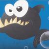 Ткань Fantasy/Zesta -> Fish/черный ZT-24