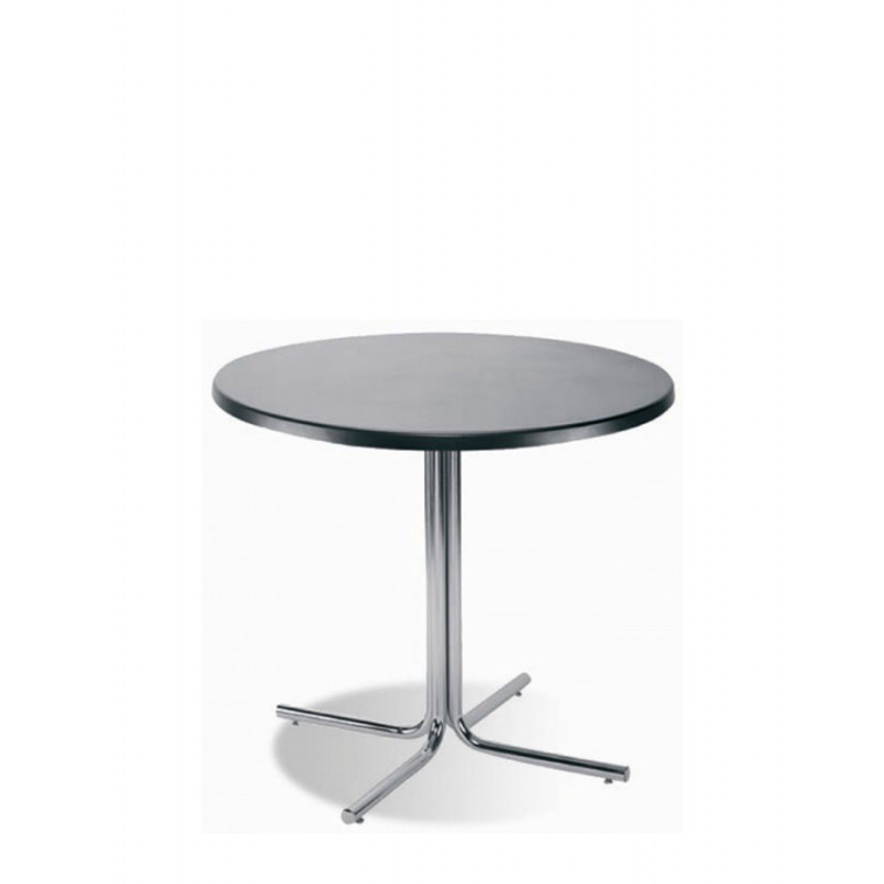 Обеденный стол Karina (Карина) chrome/alu