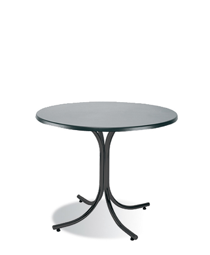 Обеденный стол Rozana (Розана) black/alu
