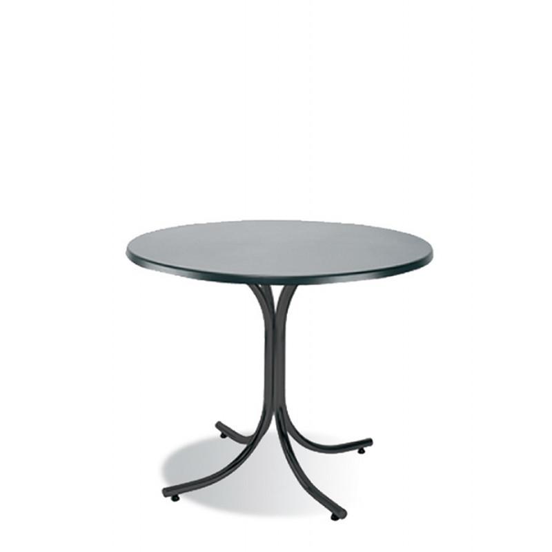 Обідній стіл Rozana (Розана) black/alu