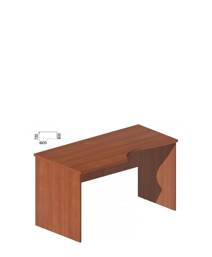 Стол руководителя фигурный М-251, 253