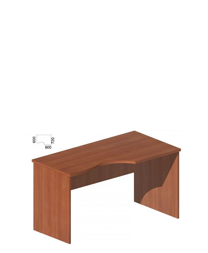 Стол руководителя фигурный М-252