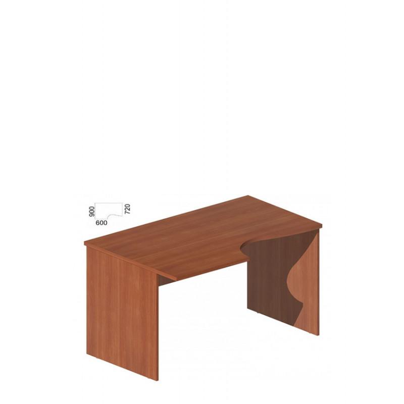 Стол руководителя фигурный М-255