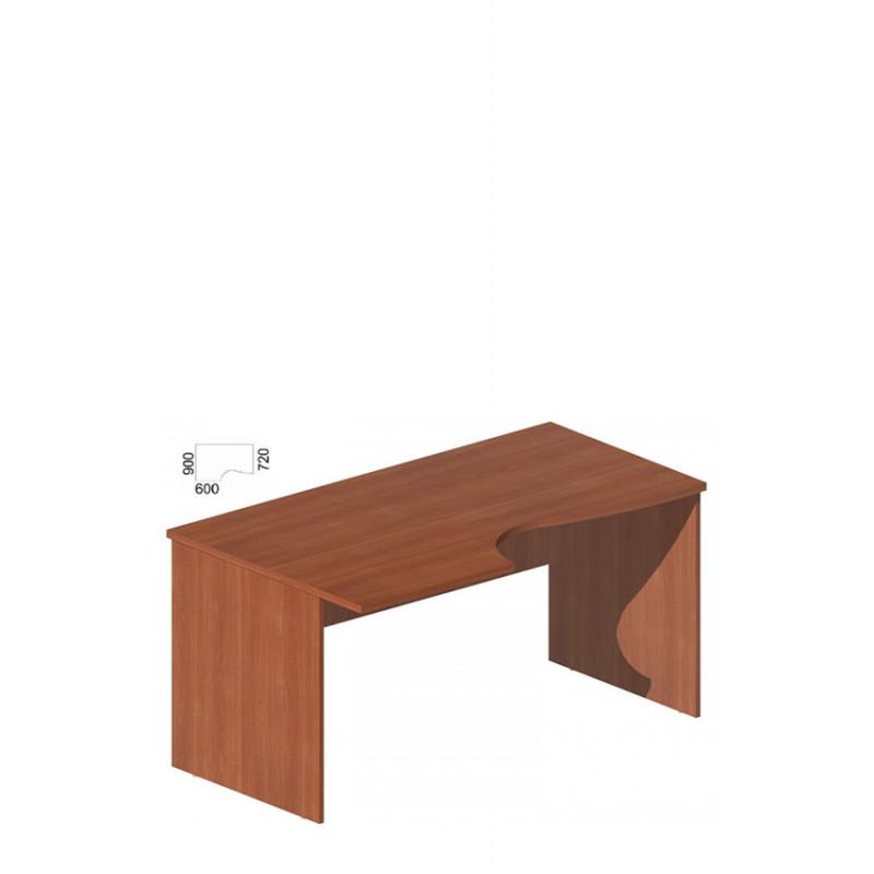 Стол руководителя фигурный М-257